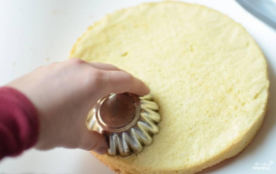 Бисквитные пирожные - пошаговый рецепт