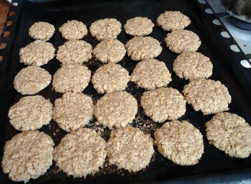 Овсяное печенье из овсяных хлопьев - пошаговый рецепт с фото на