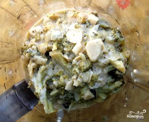 Крем-суп из брокколи с молоком - пошаговый рецепт