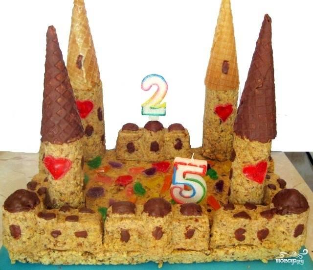 Торт детский на день рождения рецепт