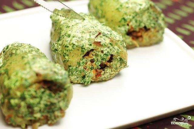 Перец, фаршированный сыром и гречкой - пошаговый рецепт с фото на