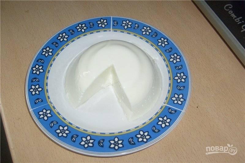 Диетический десерт из творога с желатином - пошаговый рецепт