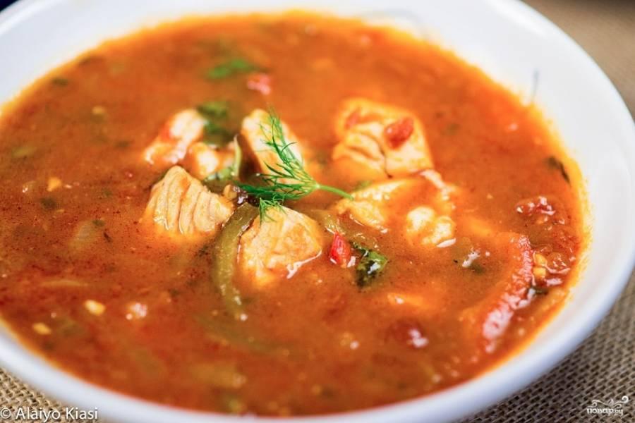 Суп из окуня