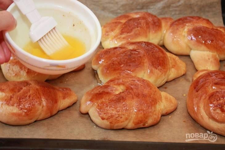 Медовые булочки - пошаговый рецепт с фото на