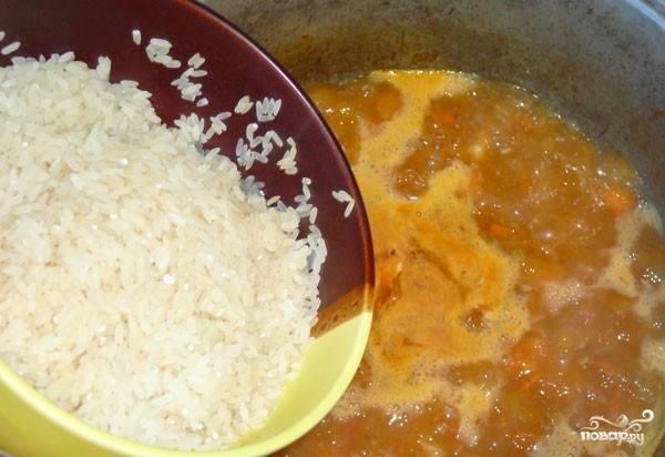 Каша рисовая со свининой - пошаговый рецепт