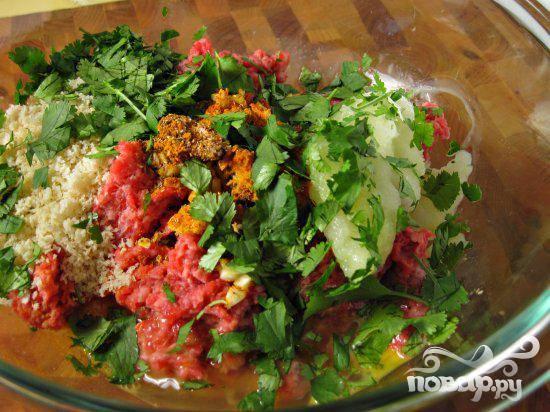 Марокканские фрикадельки - пошаговый рецепт
