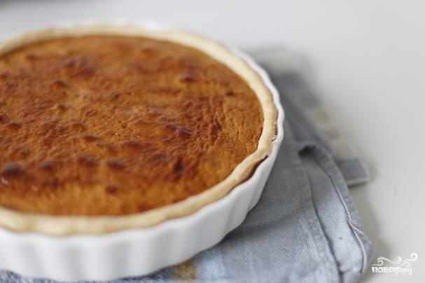 Пирог с вареной сгущенкой и яблоками - пошаговый рецепт