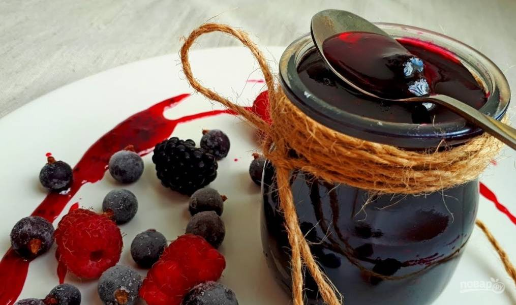 Самое полезное варенье из черной смородины
