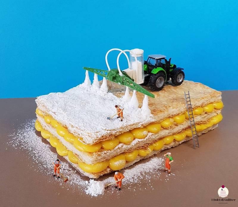 Вы должны это увидеть! Крутые десерты итальянского кондитера