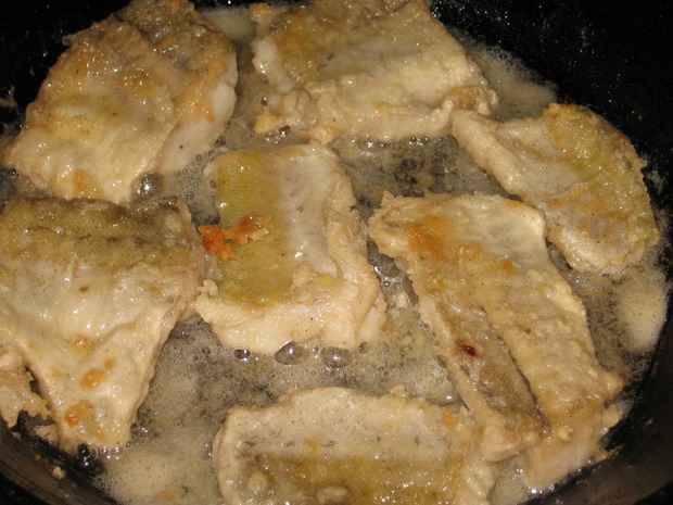Рыба, тушеная в молоке - пошаговый рецепт