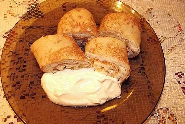 9. Подаем в теплом виде со сметаной или майонезом. Приятного аппетита!