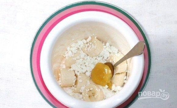 Смузи с пшеничными отрубями - пошаговый рецепт