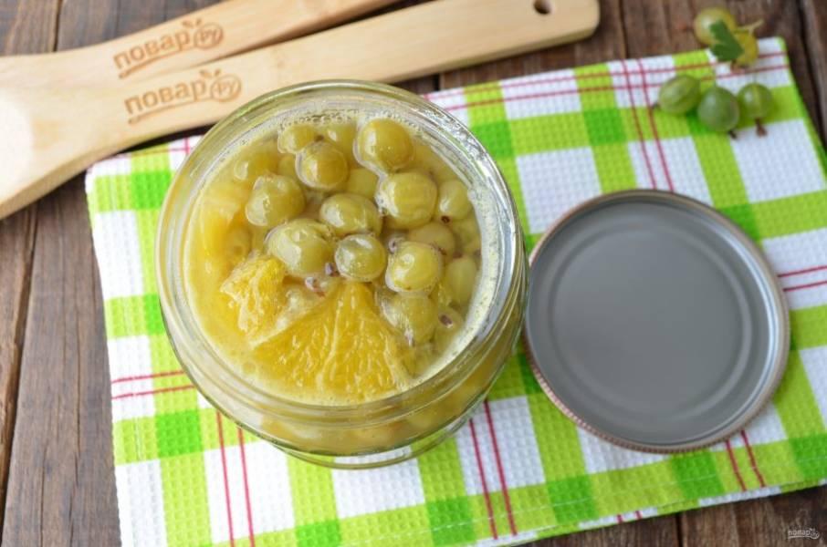 Варенье из крыжовника с апельсином на зиму - пошаговый рецепт с фото на