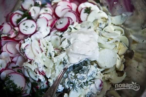 Салат с яйцом - пошаговый рецепт с фото на