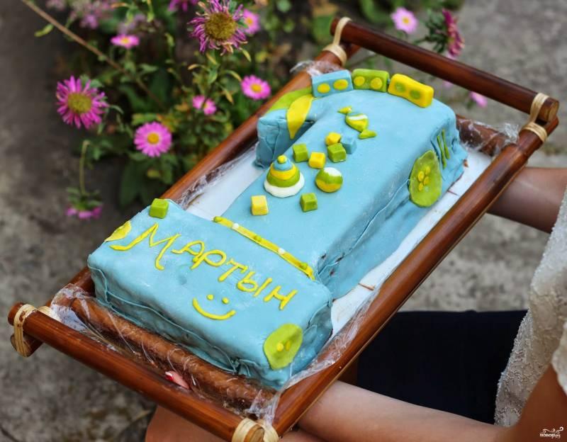Торт на 1 годик рецепт пошагово