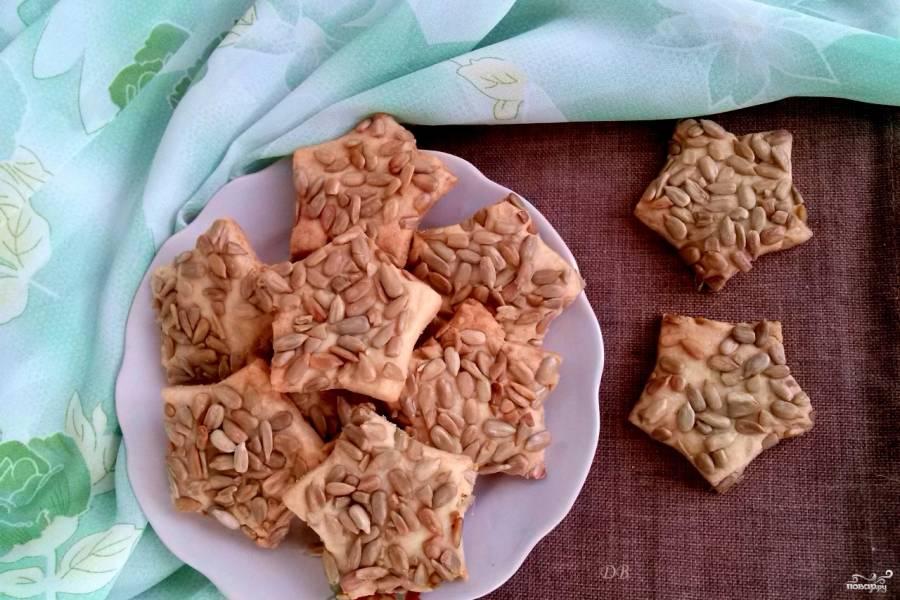 Печенье с семечками