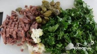 Дорада с анчоусным соусом - пошаговый рецепт