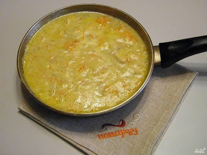 Подлива из куриной грудки готова! Она будет отлично гармонировать с картофельным пюре, макаронами или рассыпчатыми крупяными кашами. Приятного!