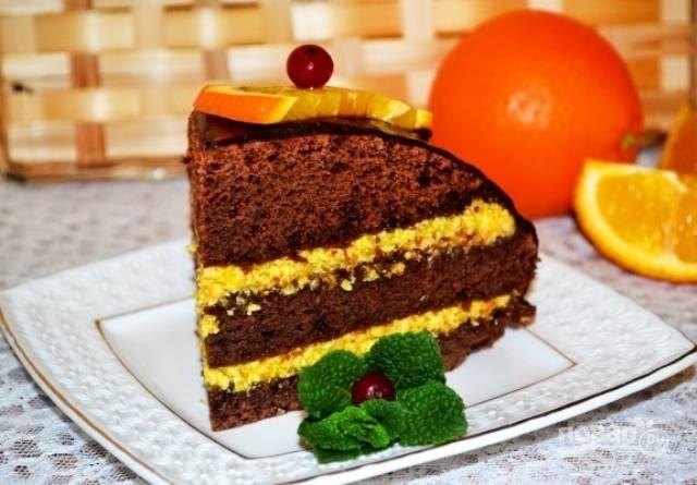 Крем для апельсинового бисквитного торта