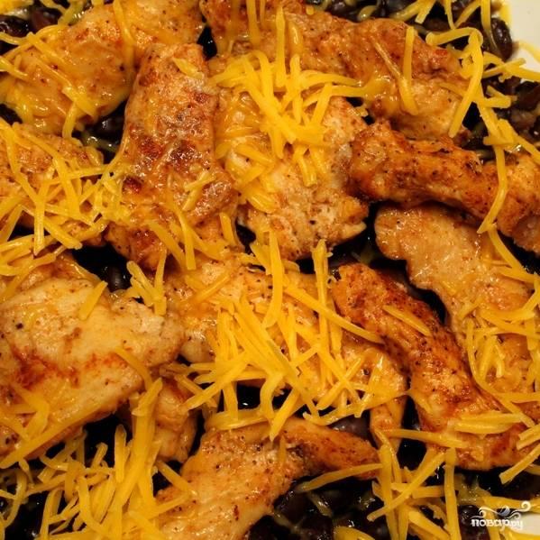Куриное филе с фасолью - пошаговый рецепт с фото на