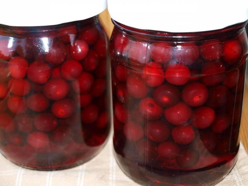 Рецепт компота из вишни
