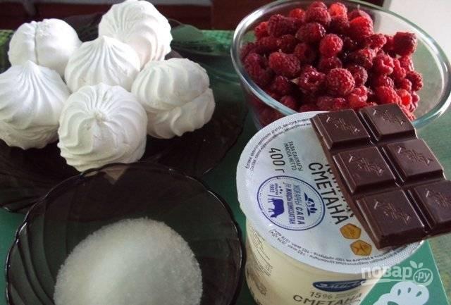 Торт из зефира - пошаговый рецепт с фото на