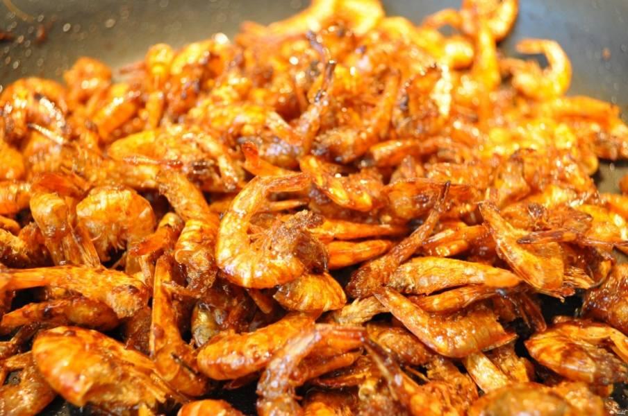 Cушеные креветки - пошаговый рецепт