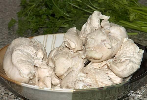 Салат куриный с ананасами - пошаговый рецепт с фото на