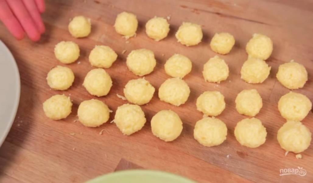 Сырные шарики (2 рецепта) - пошаговый рецепт
