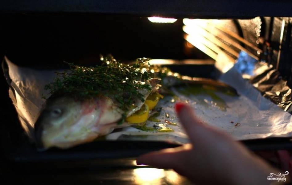 Рыба с тимьяном и луком - пошаговый рецепт