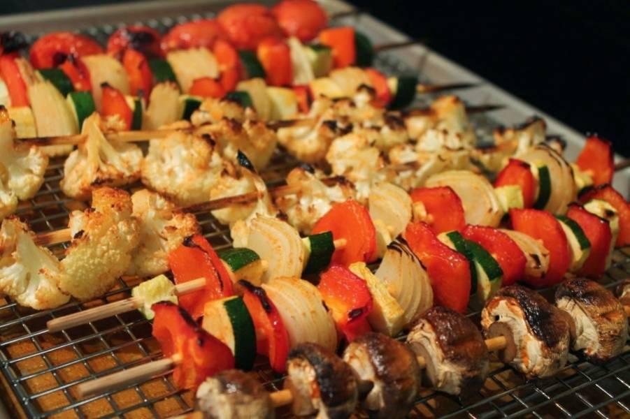 Копченые овощи - пошаговый рецепт