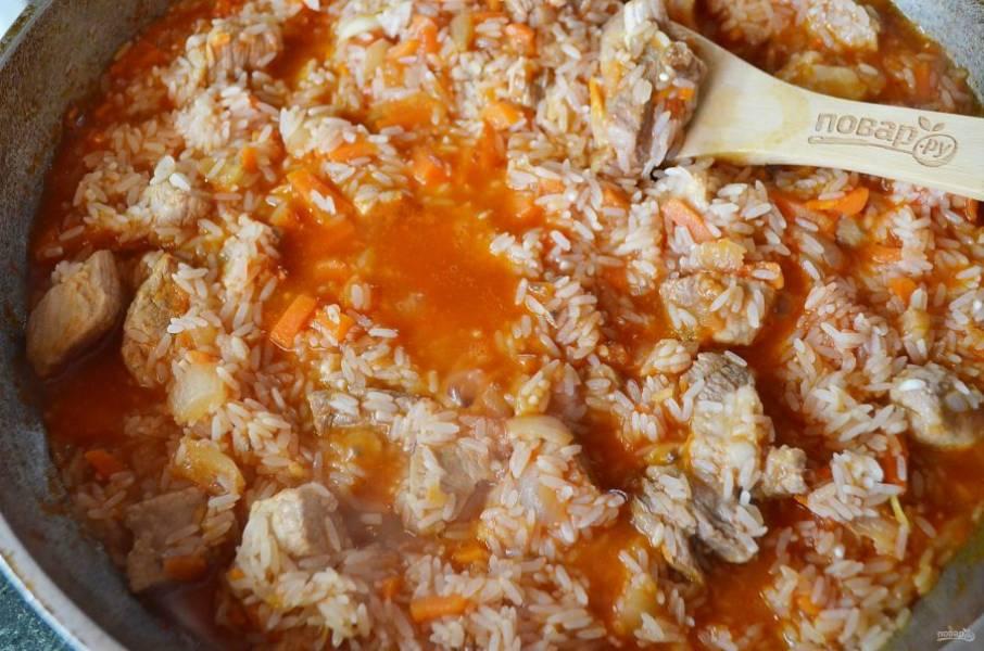 Плов со свининой рецепт пошаговый