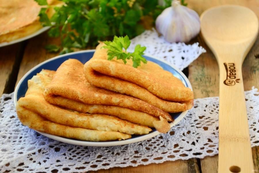 Тонкие картофельные блины (такого вы ещё не пробовали! )