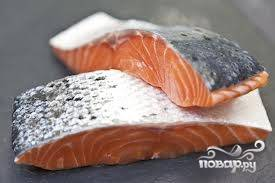 Шашлык из рыбы на решетке