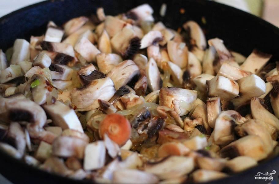 Жульен с грибами в духовке - пошаговый рецепт