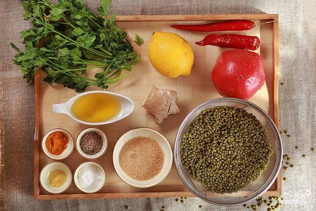 Суп из маша со специями - пошаговый рецепт