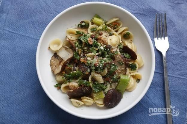 Паста вегетарианская - пошаговый рецепт с фото на