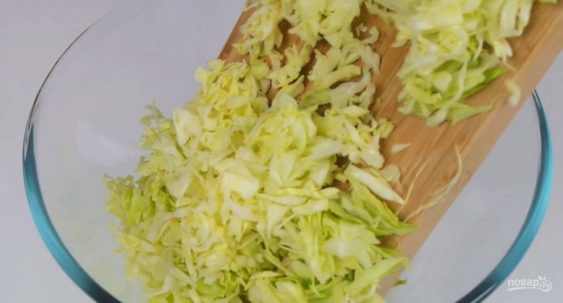 Простой и быстрый пирог с капустой - пошаговый рецепт с фото на