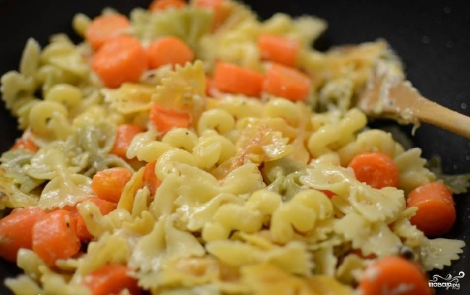 Паста с морковью - пошаговый рецепт с фото на