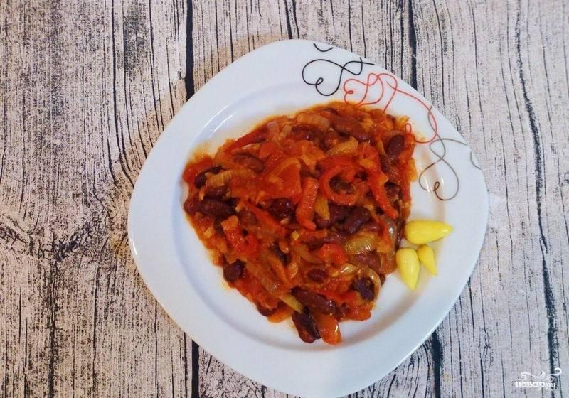 Фасоль по-мексикански - пошаговый рецепт