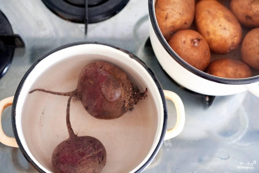 Салат - Лесная красавица - пошаговый рецепт с фото на