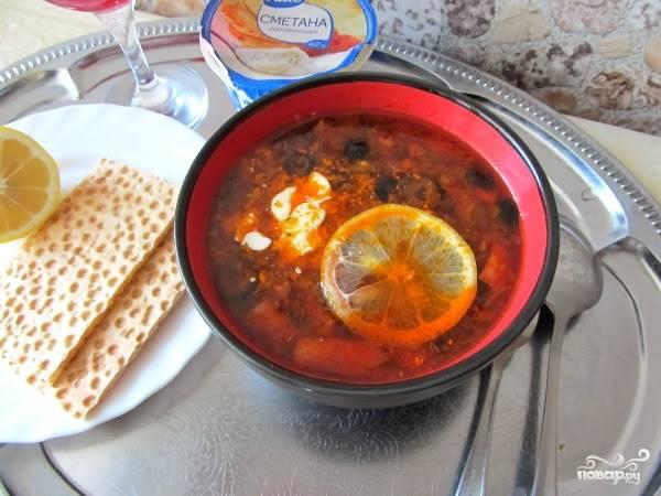 Солянка в мультиварке - Панасоник - пошаговый рецепт