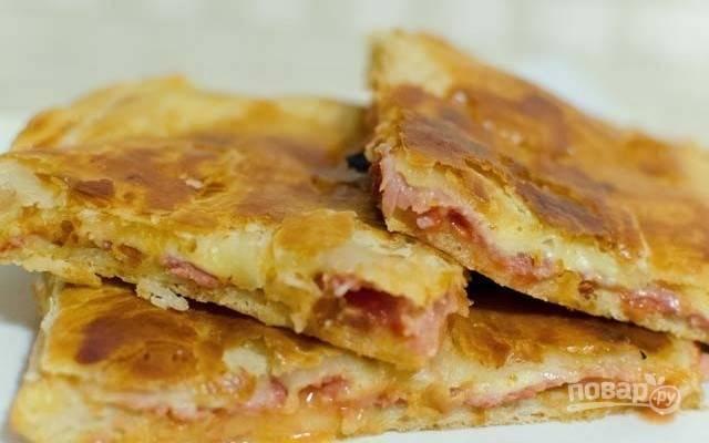 """""""Парижская"""" пицца"""