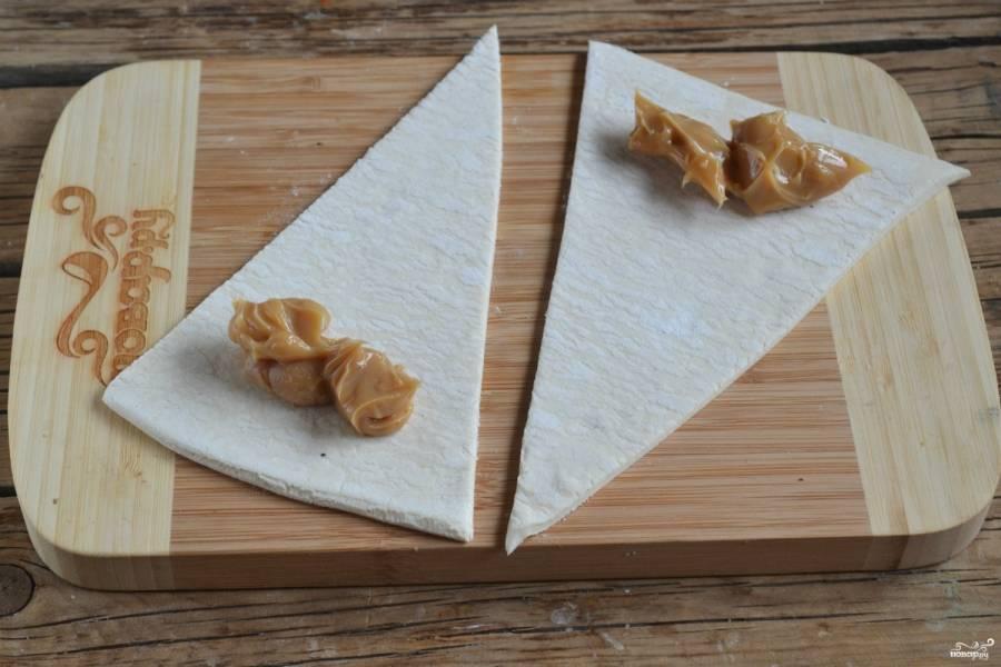 Круассаны из слоеного теста - пошаговый рецепт с фото на