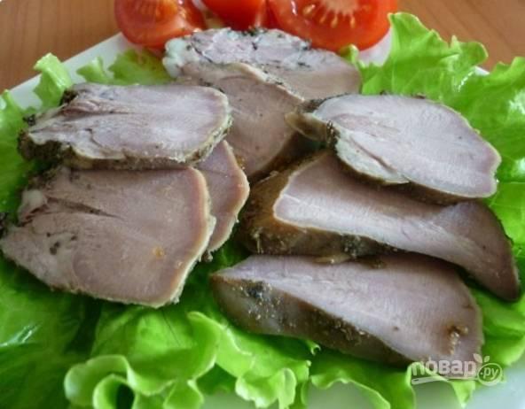 Язык свиной в духовке - пошаговый рецепт
