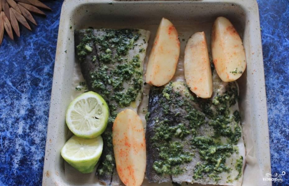 Пикша под маринадом - пошаговый рецепт