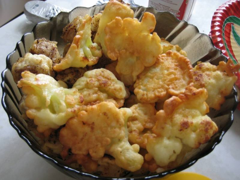 Цветная капуста в майонезе - пошаговый рецепт с фото на