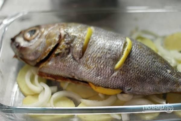 Дорада в духовке - пошаговый рецепт