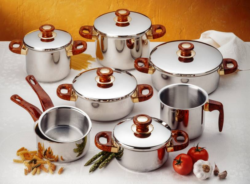 7 способов очистить посуду из нержавеющей стали