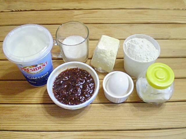 Печенье с начинкой - пошаговый рецепт